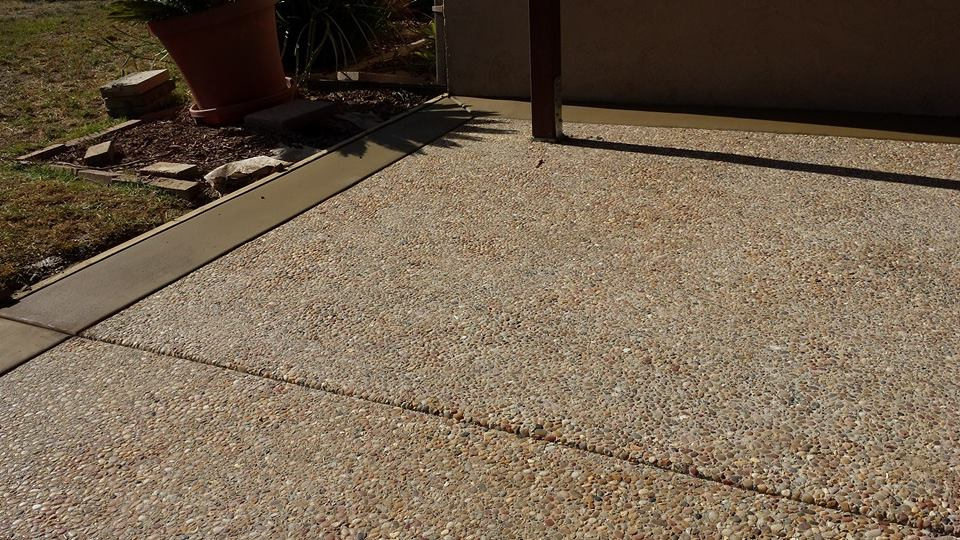 Exposed Aggregate Concrete Contractors San Diego Ca